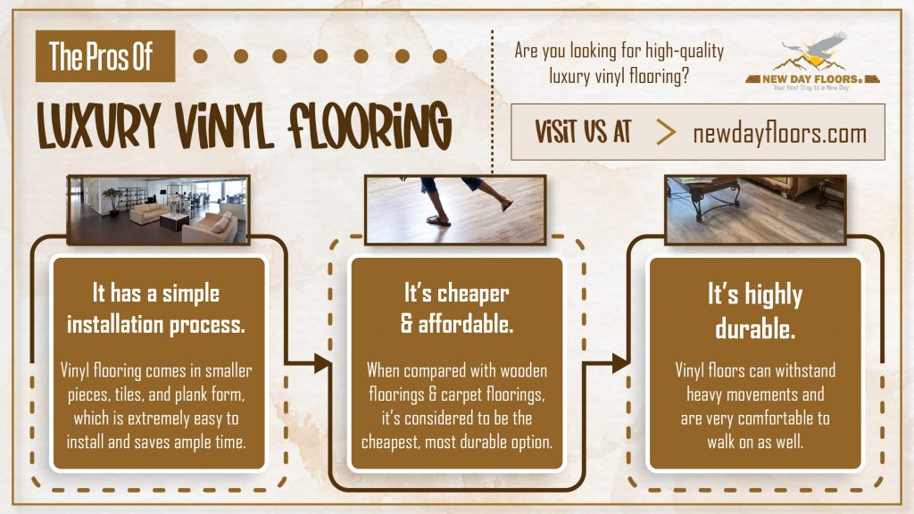 The Pros of Luxury vinyl flooring