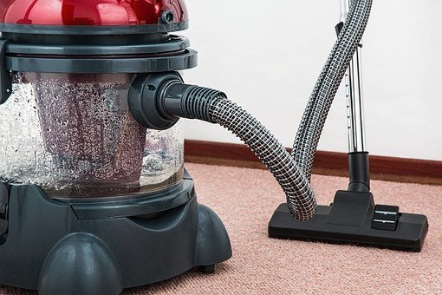 Picture of vacuum on a carpet